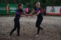 Чемпионат  по пляжному волейболу среди женщин. Первый день