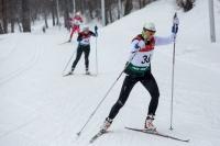 Чемпионат работников по лыжным гонкам. Второй день