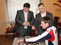 Чемпионат по шахматам. Первый день