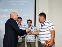 Чемпионат МССЖ по шахматам. Награждение