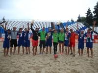 Чемпионат по пляжным видам спорта. Награждение
