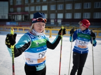 Чемпионат по лыжным гонкам. Тренировка