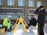 Чемпионат по лыжным гонкам. Первый день