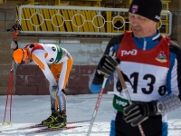 Чемпионат по лыжным гонкам. Второй день