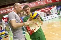 Кубок Президента ОАО «РЖД» по волейболу. Первый день