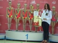 Открытый кубок РФСО «Локомотив» по художественной гимнастике. Первый день