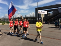 Чемпионат МССЖ по бадминтону. Первый день