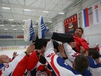 VII Кубок РФСО «Локомотив» по хоккею памяти В.В. Сёмина. Награждение