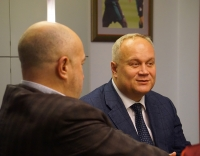 Напутственная встреча сборной РФСО «Локомотив». 02/10/2019