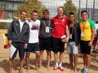 Чемпионат по пляжным видам спорта - Первый день